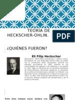 Teoría de Heckscher-Ohlin