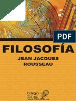 Filosofia - Jean Jacques Rousseau