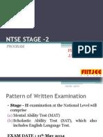 Ntse Stage 2