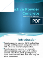 222870674 Seminar Presentation PPT on Reactive Powder Concrete Civil Engineering