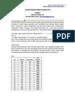 Aplikasi Regresi Ganda Dengan Spss1
