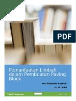 Pemanfaatan Limbah Dalam Pembuatan Paving Block ISNI FILIANDINI