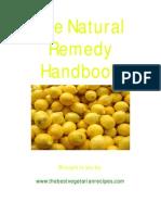 The Natural Remedy Handbook