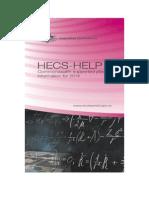HECS-HELP booklet