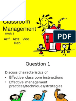 Classroom Management Week1