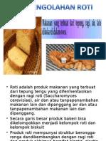 Pengolahan Roti