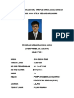 l a Biodata Ong Ching Ting