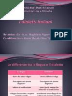 I Dialetti Italiani