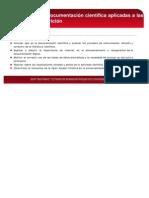 Comunicación y documentación científica
