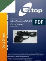 GlobalTop MiniGmouseDG PS2 Datasheet V0B