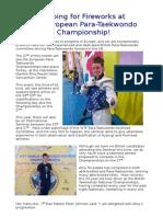 3rd European Para Taekwondo Championships.docx