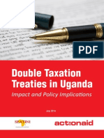Double Taxation Treaties in Uganda