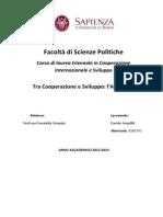 Tesi D. Angellilli- Tra Cooperazione e Sviluppo ALBA-TCP -Libre