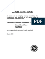 Water Survey