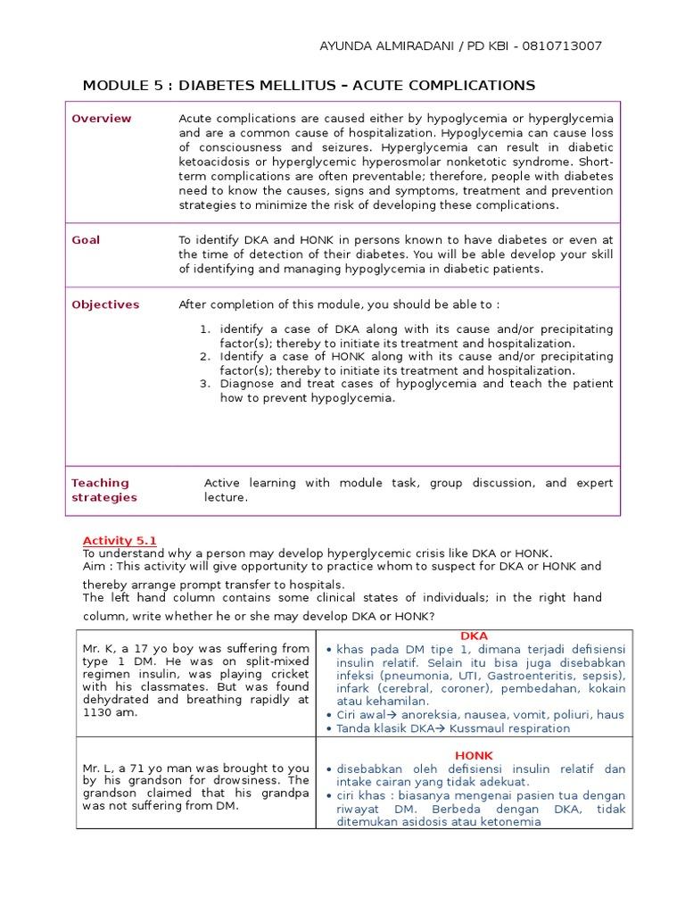 patofisiologi diabetes mellitus scribd documentos