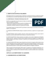 Normativa WPT 2014