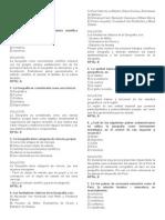 Geografia SIMULACRO DE XAMEN DE ADIMISION