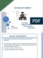 13PC182-Survillence Robot Arduino