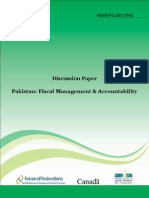 Pakistan Fiscal Management and Accountability