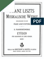 Liszt Musikalische Werke 2 Band 1 32
