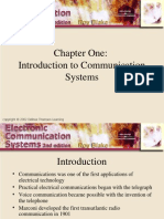Communication Systems Introduction