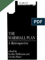 The Marhsall Plan-a Retrospective