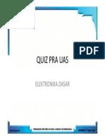Quiz Pra Uas Elektronika Dasar