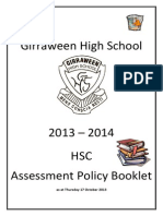 HSC Assessment Booklet
