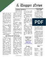 Pilcrow and Dagger Sunday Newspaper 2-22-2015