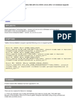 11i - 12 Gather Schema Statistics Fails With Ora-20001 Errors After 11G Database Upgrade (Doc ID 781813.1)