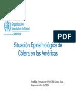 2-Colera en las Americas - F. Hernandez [Modo de compatibilidad]2014.pdf