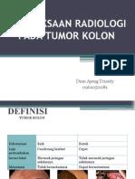 Pemeriksaan Radiologi Pada Tumor Kolon