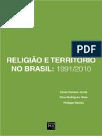 Religiao e Territorio No Brasil 1991-2010