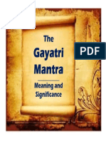 GAYATRI MANTRA_Meaning and Significance