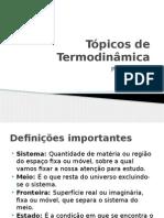 Tópicos de Termodinâmica para Motores de Combustão