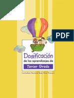 Dosificación 3er Grado