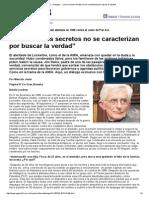 """Página_12 __ Dialogos __ """"Los servicios secretos no se caracterizan por buscar la verdad"""".pdf"""