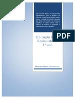 Apostila EDUCAÇÃO FÍSICA 1º ENSINO MÉIO