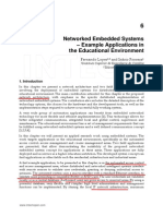 Networked Embedded Systems  – Example Applications in  the Educational Environment