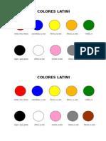 Colores Latini