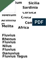Nombres de Lugares
