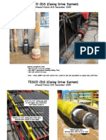 TESCO Casing Drive System