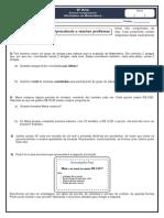 OPERAÇÕES MATEMÁTICA E PRICNCIPIO FUNDAMENTAL DA CONTAGEM 6º ANO