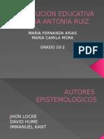 AUTORES  EPISTEMOLOGICOS.pptx