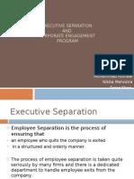 Executive Separation