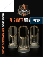 2015 SF Giants Media Guide