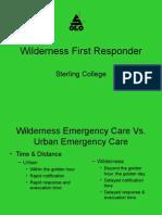 wilderness first responder allison's pp 1