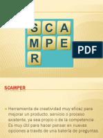 SCAMPER-Desarrolllo de Emprendedores