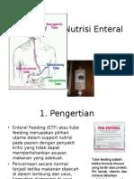 Nutrisi Enteral, Nutrisi Klinis