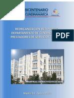 REORGANIZACION EN REDES DE PRESTADORES DE SERVICIOS DE SALUD